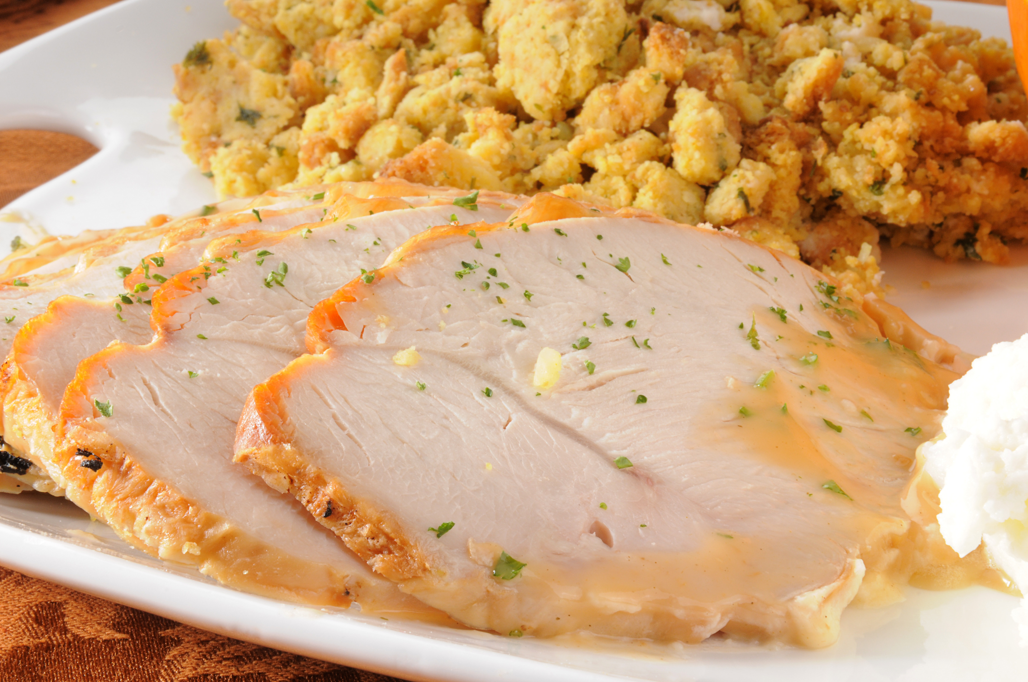 thick cut turkey breast
